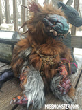 BELAUD THE MONSTER- OOAK HANDMADE DOLL