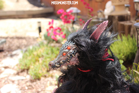 GODRIC THE GROGODILE- OOAK HAND MADE ART DOLL