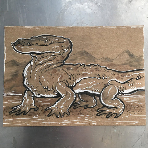 "5"" x 7"" LIZARD ILLUSTRATIONS"