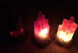 CAST CRYSTAL LED LIGHTS- SELENITE