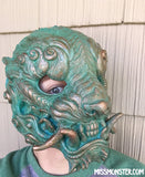 SENTINEL- FINISHED MASK- COPPER PATINA