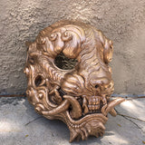 CAST URETHANE SENTINEL MASK- BRIGHT COPPER