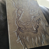 BALLPOINT PEN ILLUSTRATION ON KRAFT BOARD