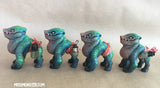 CHUBNOG MINI FIGURE- PAINTED- BOTTLE PUPS