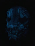 SENTINEL MASK - GLOW IN THE DARK- DEEP OPAL