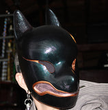 OIL SLICK KITSUNE MASK- READY TO WEAR