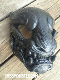 READY TO SHIP COLOR TEST PANTHER MASK- GREEN SILVER OR RAINBOW BLACK
