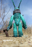 MONSTER COMPANION POSEABLE FIGURE- BLUE