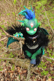 PETRICHOR THE LITTLE DEMON- OOAK HANDMADE ART DOLL