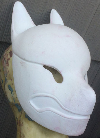 DIY BLANK- LIMITED EDITION- KITSUNE MASK