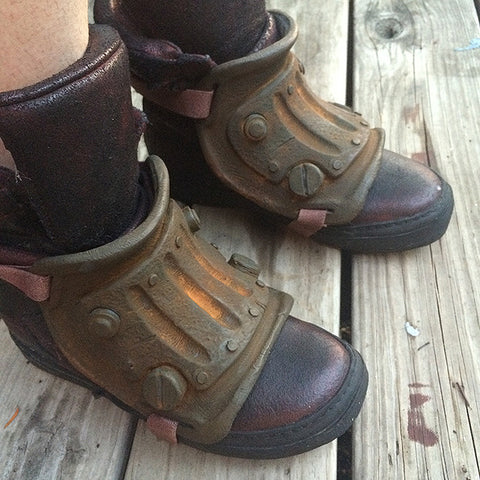WASTELAND BOOT COVERS- CAST URETHANE BLANK- PAIR