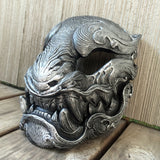 READY TO WEAR FAUX SILVER PANTHER MASK