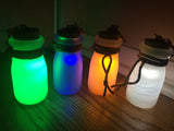 JAR LIGHT- GLOW IN THE DARK, LED