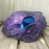 HATE WRAITH MASK- PURPLE WITH BLUE LENSES