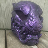 BLACK AND PURPLE PANTHER MASK- READY TO WEAR