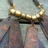 POST APOCALYPTIC NECKLACE- COPPER LURES
