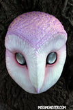 GLOW IN THE DARK IRIDESCENT OWL MASK