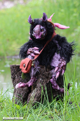 RUNNI THE KABO OOAK DOLL