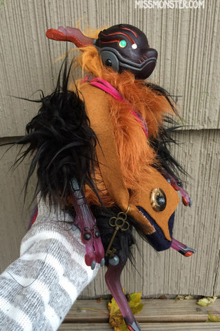 TIPTREE THE CRITTERBORG- OOAK DOLL
