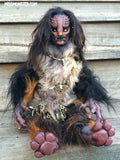 ALMACH THE MANTICORE- OOAK ORIGINAL HANDMADE DOLL