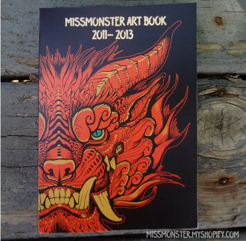 MISSMONSTER ARTBOOK 2013- use link in description!