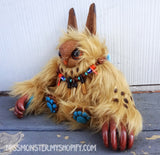 FINKLE THE BABY OWLBEAR DOLL CUSTOM LISTING