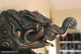 BAKU WALL SCULPTURE- ANTIQUE BRONZE