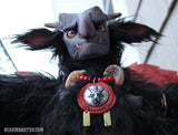 BAPHOMET- ORIGINAL ART DOLL