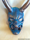 FAUX BRONZE KRAMPUS MASK