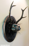 BRONZE CLACKER- OOAK WALL SCULPTURE