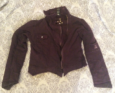 DARK PURPLE BUDDHAFUL JACKET