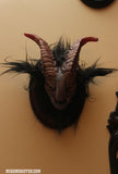 DEVIL HEAD- TAXIDERMY WALL MOUNT