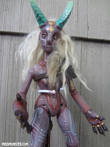ARTIST CAST EUSAPIA- BALL JOINTED DEMON DOLL