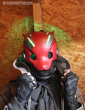 ROBO FOX BATTLE DAMAGE MASK- RED LEDS
