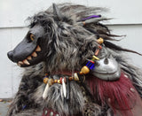 GNARL THE GNOLL- ORIGINAL ART DOLL