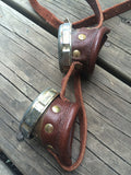 LEATHER BRASS GOGGLES