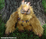 GREGOR THE OWLBEAR DOLL