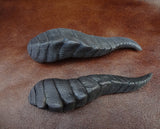 DRAGON HORN BARRETTES