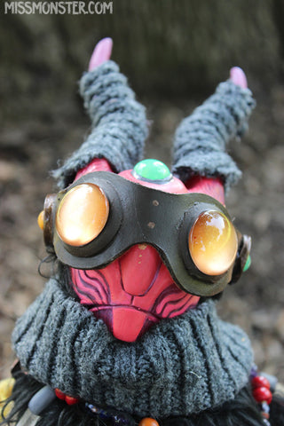 GRIMBALD THE EXPLORER- OOAK DOLL