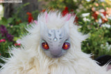 ISODORA THE GHOST MONSTER- OOAK HANDMADE DOLL