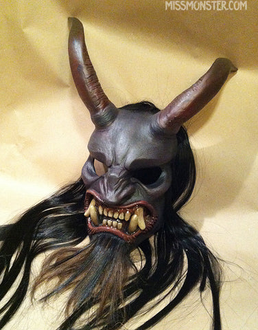 KRAMPUS MASK- FINISHED