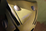 MILITARY GREEN BATLE DAMAGED ROBO FOX MASK
