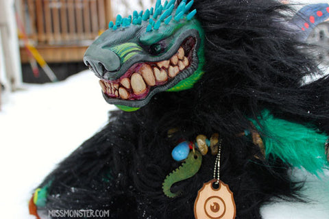 MINGLESNOUT THE DEMON OOAK DOLL