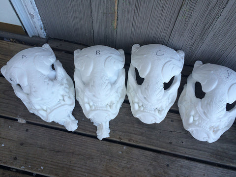 ORNATE PANTHER MASK MISCASTS