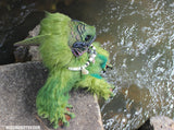 MONMOUTH THE FISH CREATURE DOLL- OOAK HANDMADE