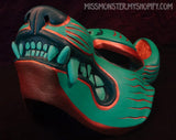 PAINTED KITSUNE MASK- 2ND EDITION