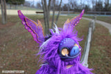 PIGGOT THE PORKBAT OOAK DOLL