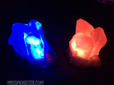 CAST CRYSTAL LIGHT- QUARTZ CLUSTER-GLOW IN THE DARK