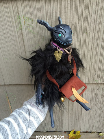 QUAY THE CRITTERBORG- OOAK DOLL
