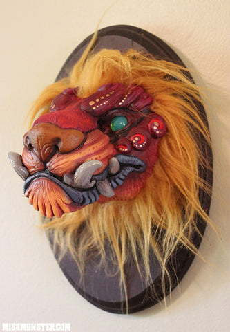 FIRE FOO- WALL SCULPTURE